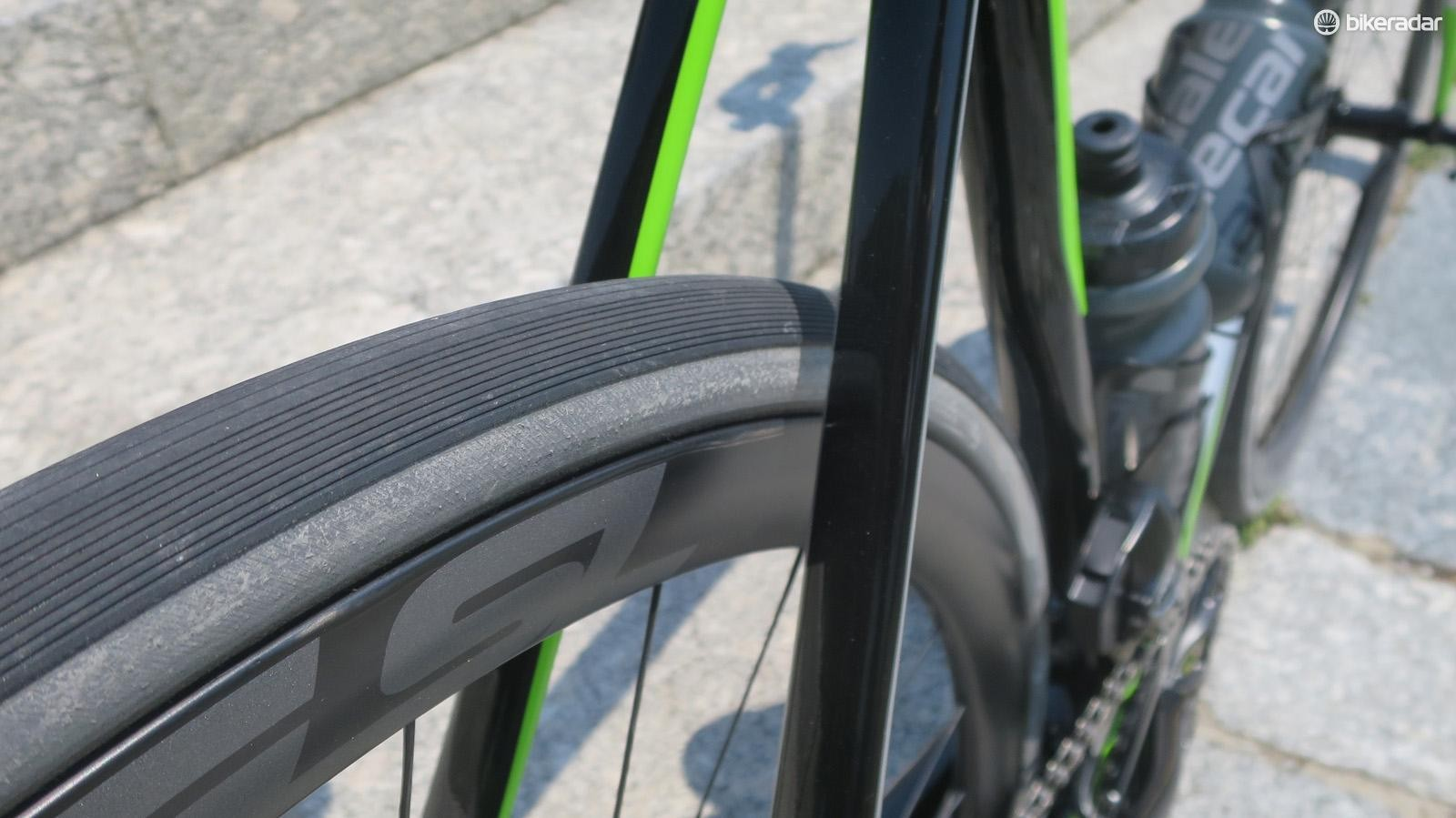The new back-end offers increased tyre clearance over the old model