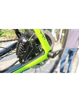 Shimano's new Dura-Ace disc brakes
