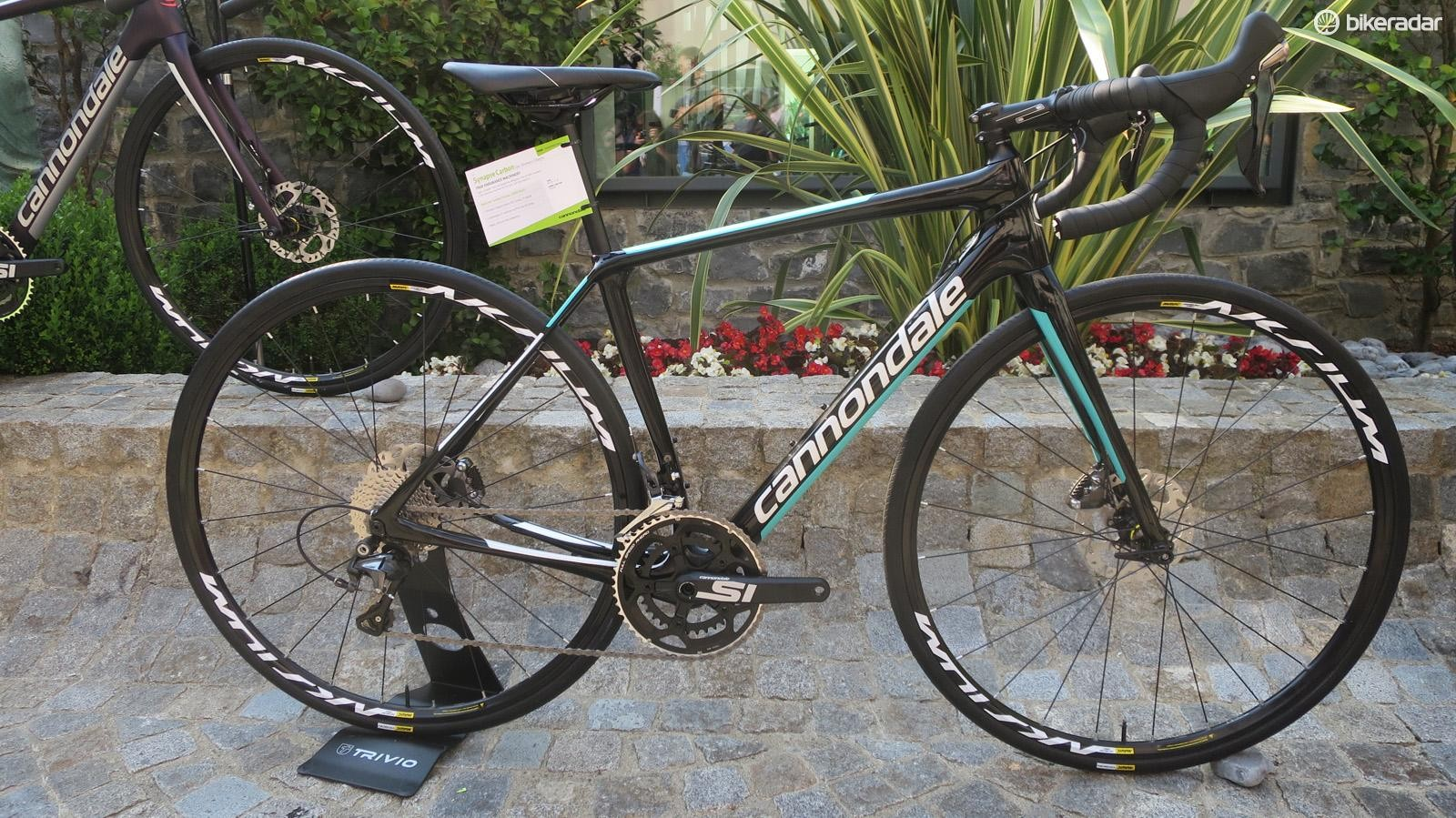The women's range starts with this Ultegra equipped model