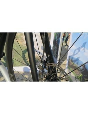 Even the Hi-Mod bikes get the practicality of proper fender mounts