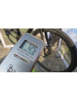 I weighed the 56cm eTap Hi-Mod complete and it tips the scales at 7.25kg