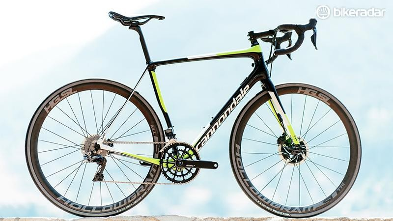 The range topping Hi-Mod Synapse with Dura-Ace Di2