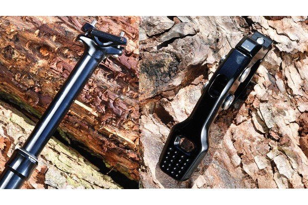 Reliable, reasonably light and priced dropper from Syncros