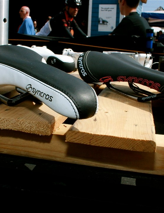 New Syncros saddles.