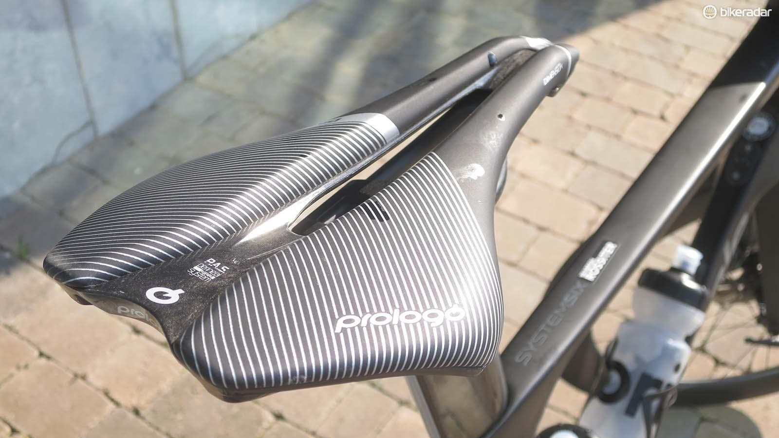 ProLogo's take on the shorty saddle is the Dimension and it comes fitted as standard on the SystemSix