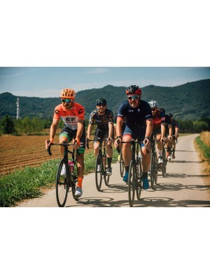 Australian pro rider Mitch Dokker from Drapac joined us on the test rides