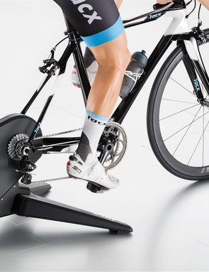 The Tacx Flux is the most feature-rich trainer on the market