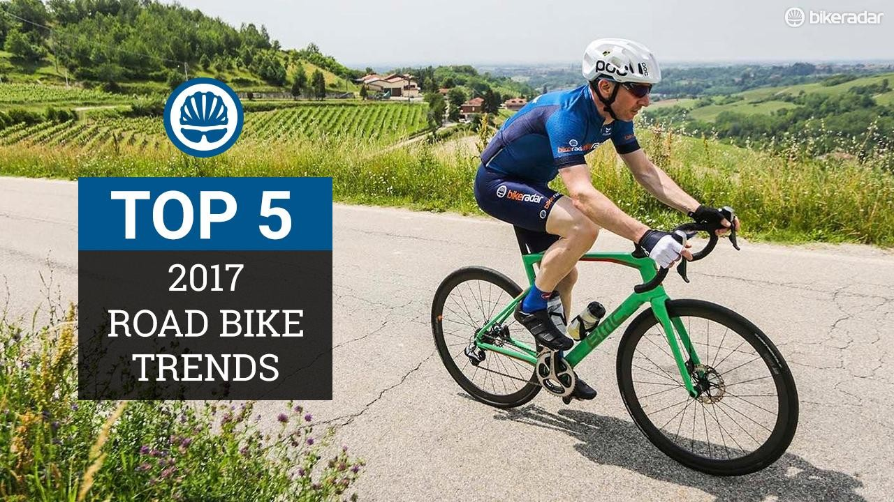 Road bike trends for 2017