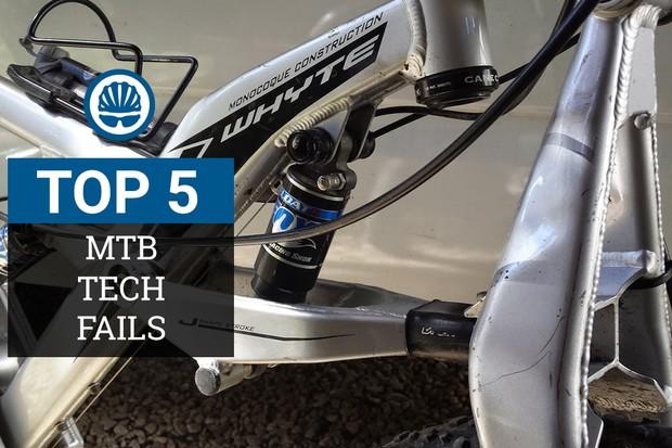We sum up our five (least?) favourite MTB tech fails