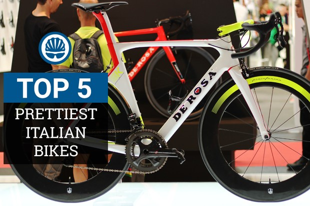 We've chosen five of the prettiest Italian road bikes on sale today