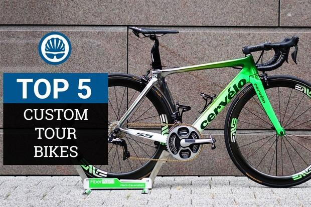 Top 5 custom bikes at the Tour de France