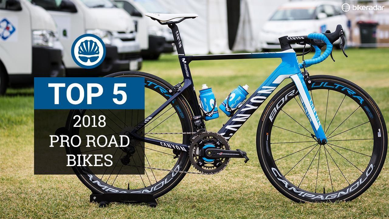 Top 5 2018 pro bikes