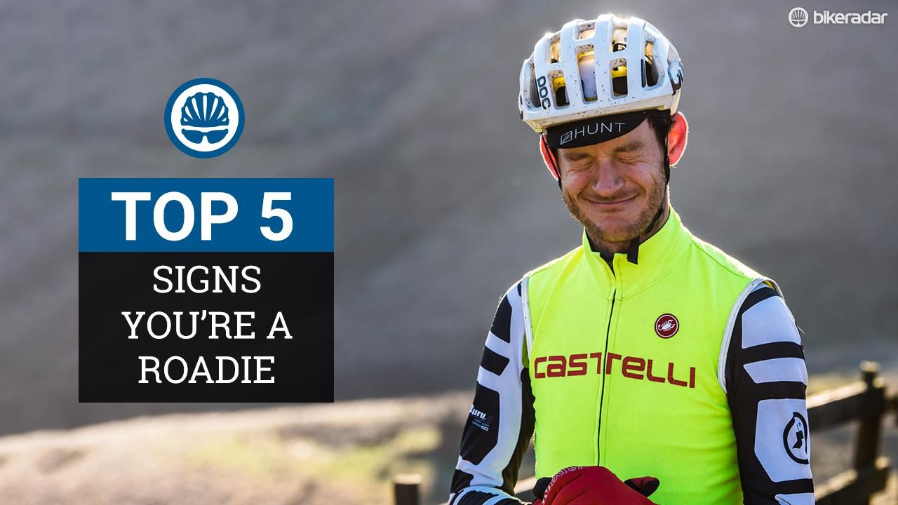 Top 5 sure signs you're a road cyclist