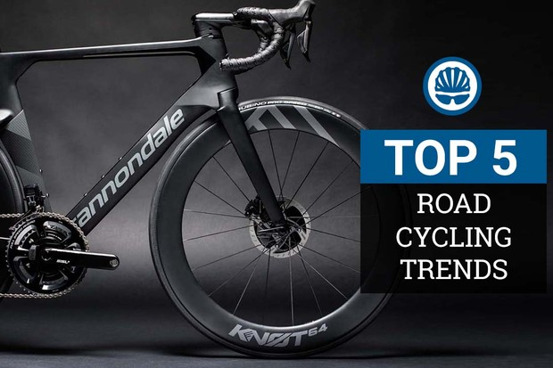 Top 5 2019 road bike trends