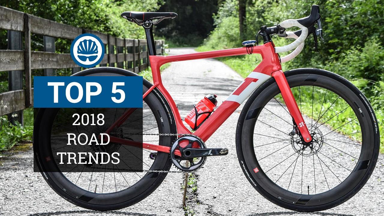 2018 road bike trends