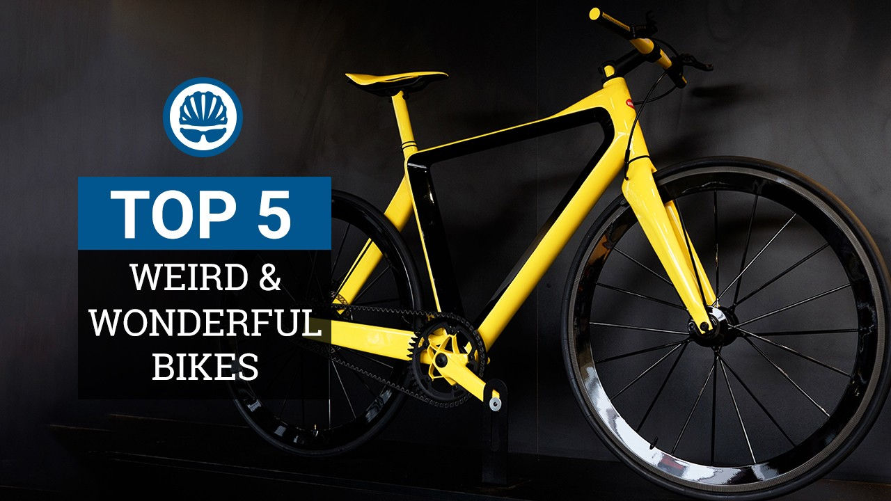 5 weird and wonderful bikes from the world's biggest bike show