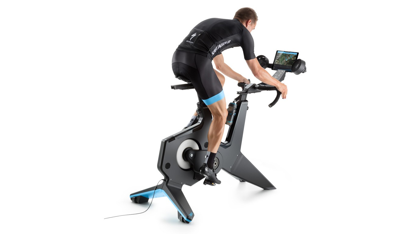 Tacx's NEO Smart Bike is a true all-in-one training solutioon