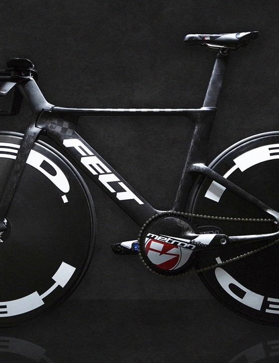 The Felt Racing Development track bike is here, and it's… different