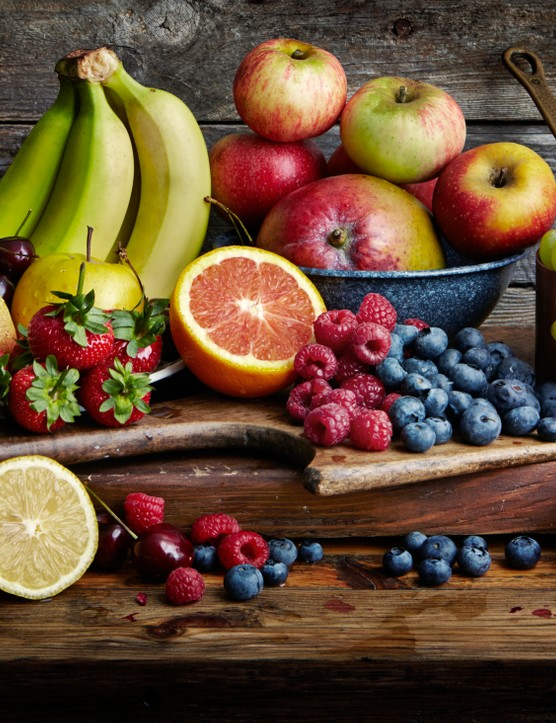Fruit is a good source of vitamin C, which helps your body to heal itself