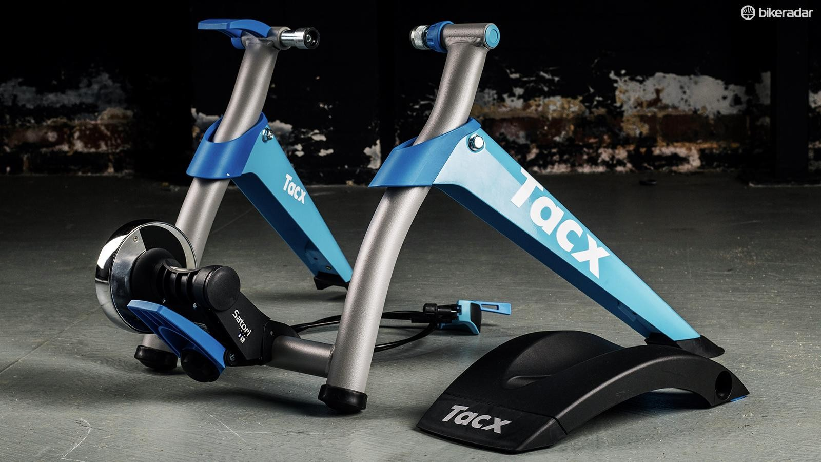 The Tacx Satori is one of the most popular smart trainers on the market