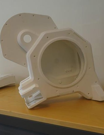 3D printed covers show what the new Tacx Flux trainer will eventually look like