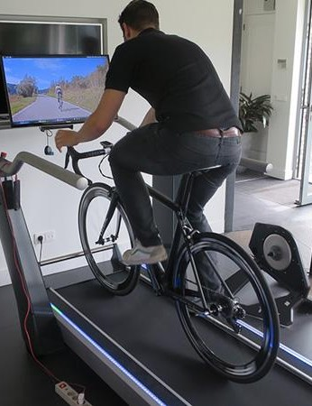 Tacx's new Magnum treadmill enables you to ride or run, it can emulate slopes and has clever sensors that ensure you won't get spat off the back should things go awry