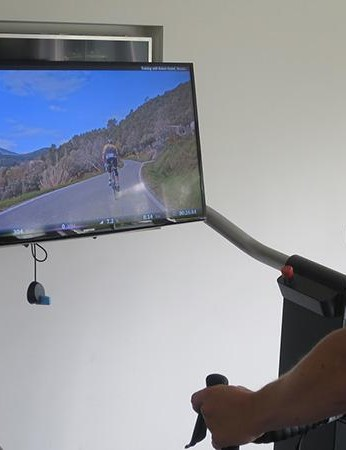 The Magnum combined with Zwift or Tacx's own training software could well be the ultimate in luxury home trainers (and the €7,000 price tag will certainly bear that out)