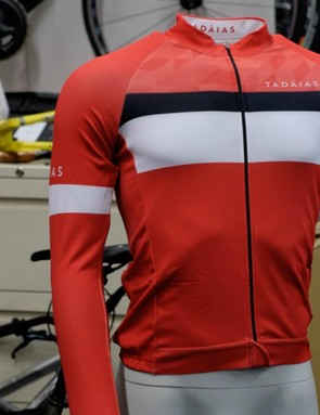 Designed in Donegal, the Tadaias jersey is part of a range of jerseys, shorts and accessories