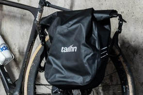 The super light panniers are fully waterproof