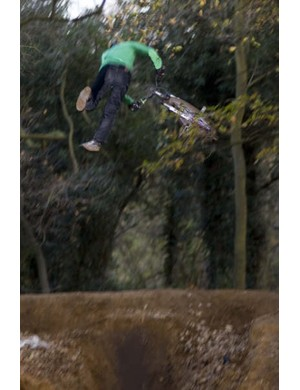 Cheeky tailwhip thrown into the mix
