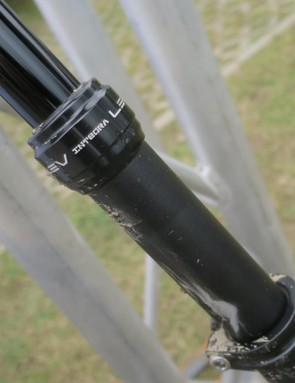 The LEV post in a road-friendly 27.2 diameter KS tell us is becoming more and more in demand