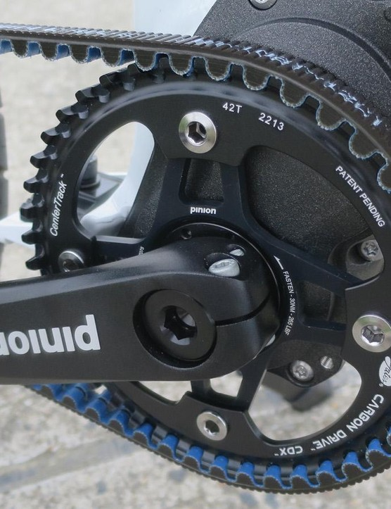 We found the Pinion's shifting to be sweet and swift especially when compared to a standard hub-gear setup