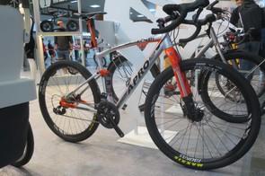 The Ranger from Apro is a full-suspension gravel bike