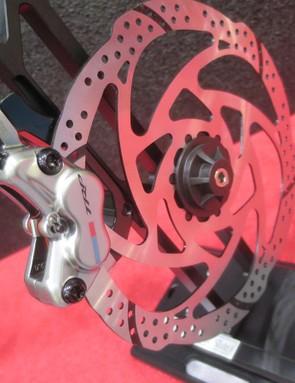 G-Spec brakes get a much more special finish than their standard rivals and reworked internals too