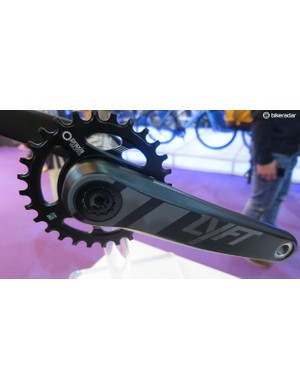 The first carbon crank from Praxis is the new Lyft