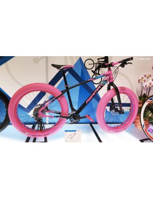 Pink tyres are bad enough, but somehow it multiplies exponentially when applied to bigger rubber