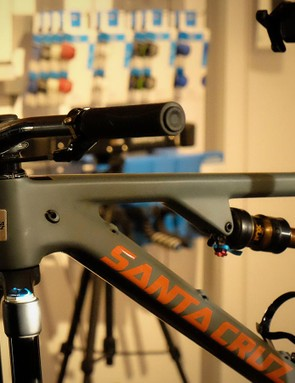 The latest Santa Cruz Tallboy has been called in to give XT Di2 a proper thrashing