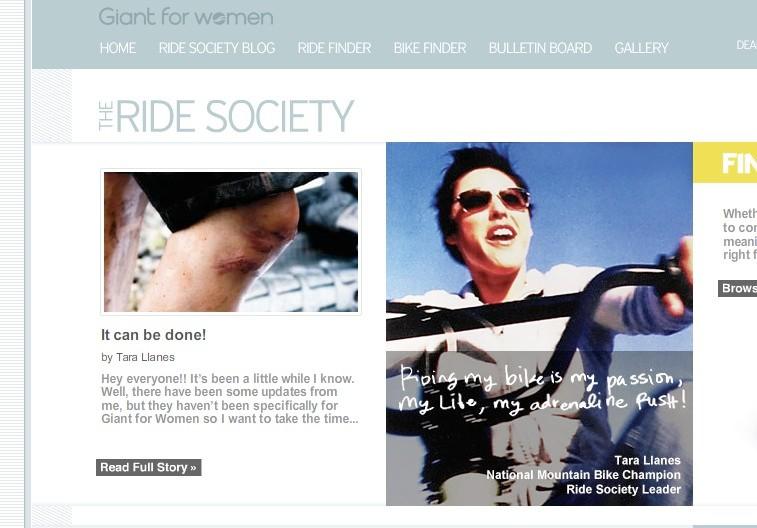 d73758d90dfd Go211.com hosts online auction for Tara Llanes - BikeRadar