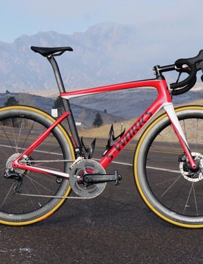 Want a new-school race bike with discs? The new Tarmac Disc is one of the best there is
