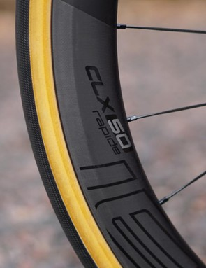 Roval is Specialized's wheel brand. The CLX 50 Rapide is, as you'd expect, 50mm tall