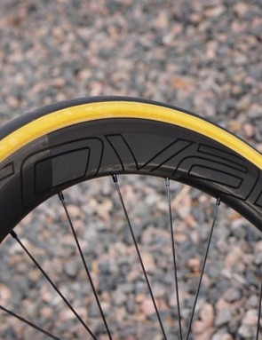 The CLX 50s feel light and fast on the road, although perhaps not quite as stable in crosswinds as a snub-nosed Zipp 454. The tires are supple, thin, light and fast