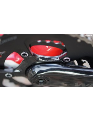 CeramicSpeed bearings are used with the Power cranks