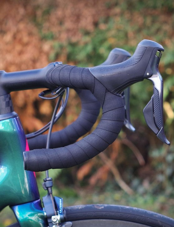 The latest Ultegra levers have a more robust reach adjustment