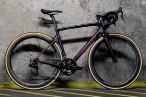 The top-of-the-range Women's S-Works Tarmac, ready to race if you've got the cash to splash