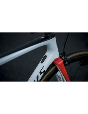 The physical size of the fork legs differ between the Tarmac frame sizes