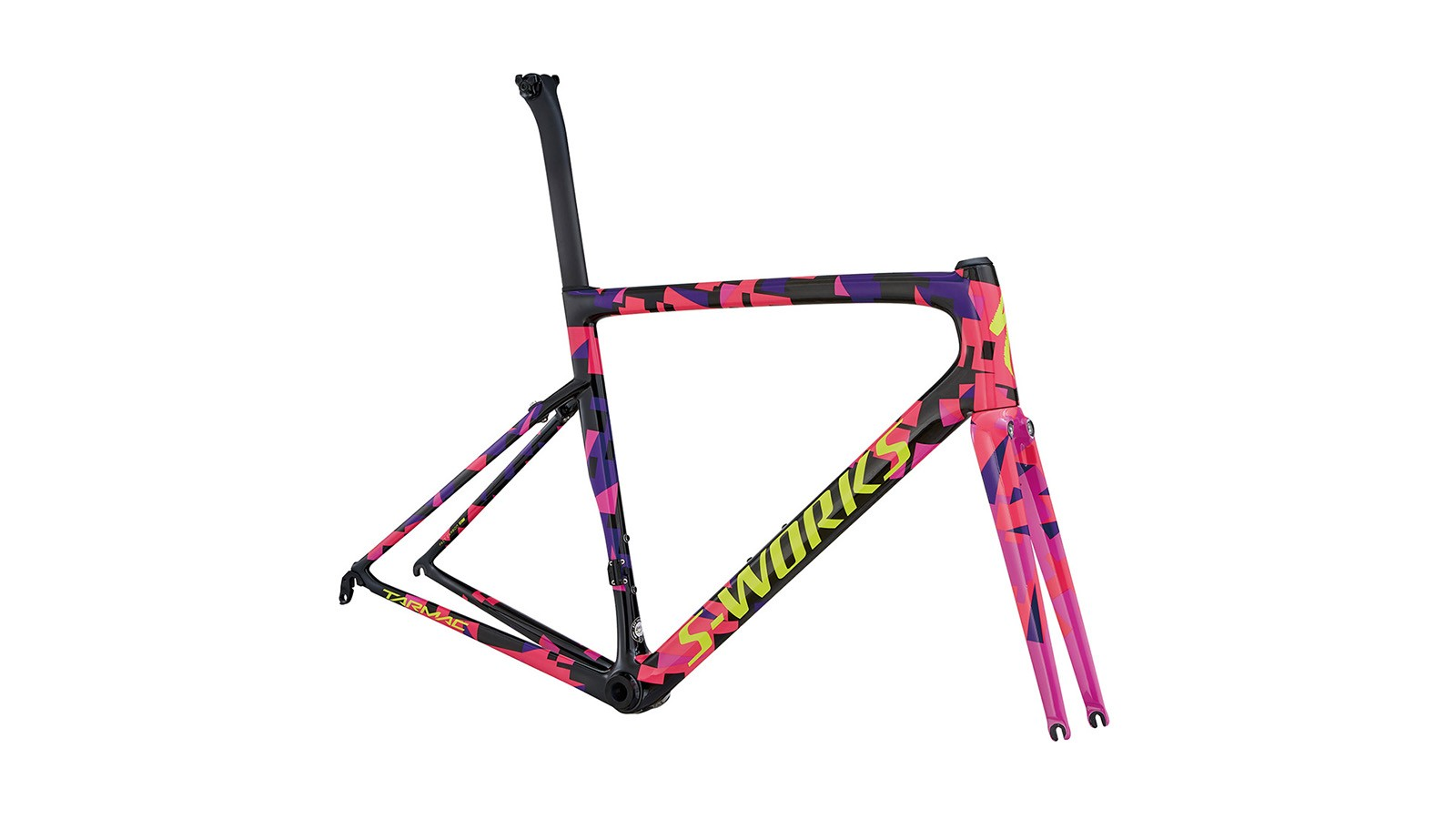 The S-Works Superstar limited edition Peter Sagan frameset