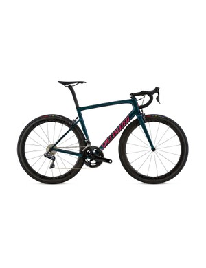 Those looking for a bit more aero benefit can opt for the Standard S-Works with CLX50 wheels
