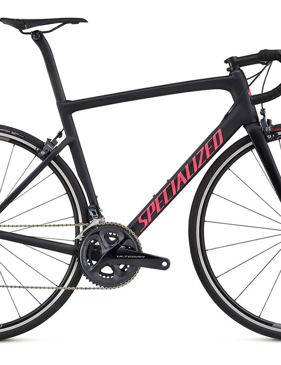 The Tarmac Pro comes with the latest Shimano Ultegra Di2