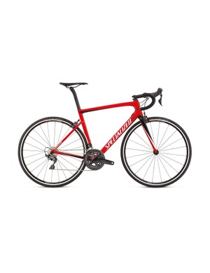 The Expert also comes in this more flamboyant flame red finish