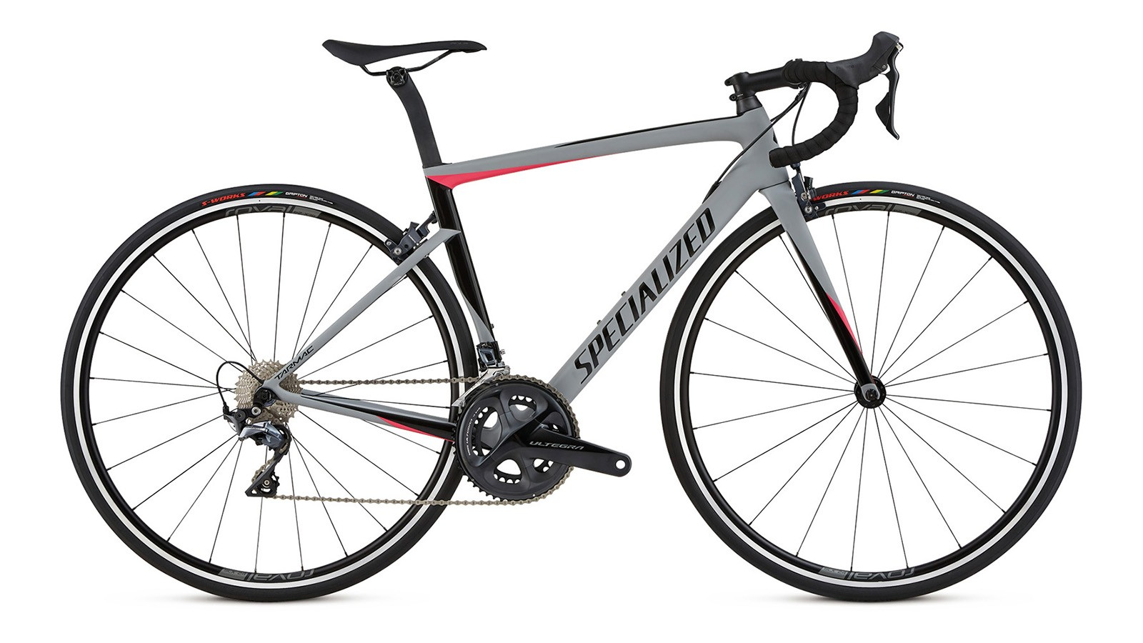 The Expert level women's bike comes with Ultegra Di2
